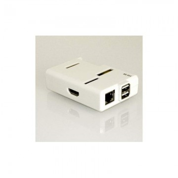 Raspberry PI Model B ENCLOSURE - White