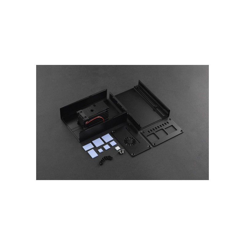 Metal Heatsink Case for Raspberry Pi 4 Board
