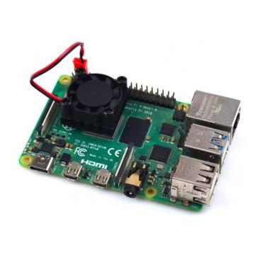 Raspberry Pi Single Cooling Fan Kit (Compatible for Raspberry Pi 3B/3B+/4B)