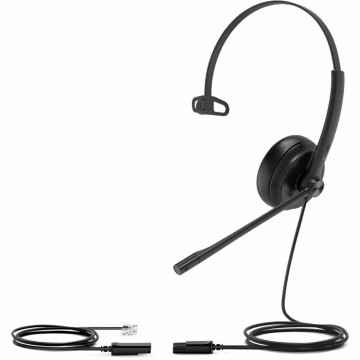 YHS34 Mono (monaural) QD (Quick Disconnect) to RJ9 headset