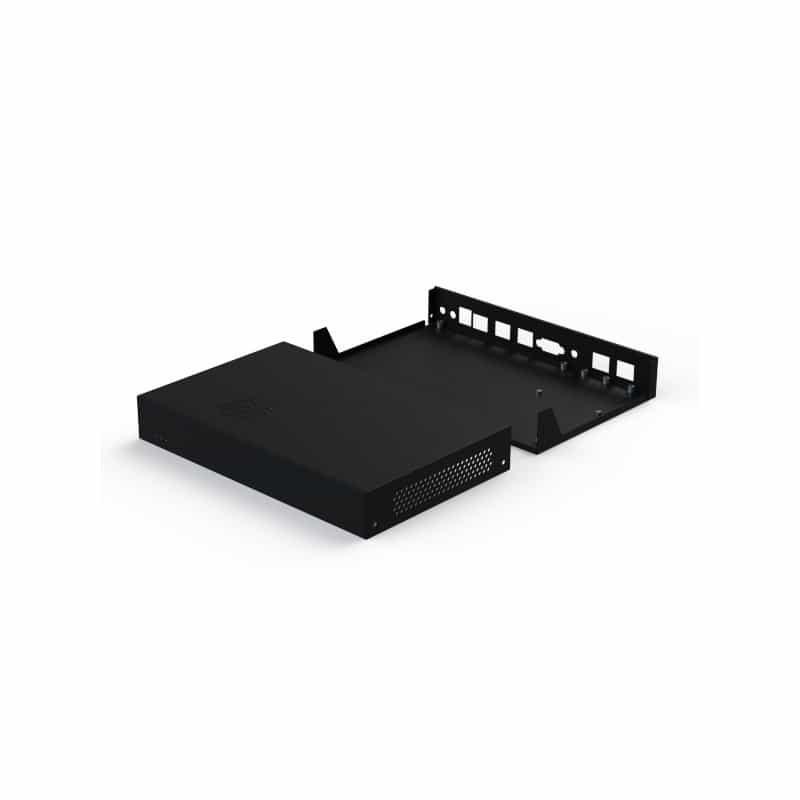 Black Enclosure HDD/LAN Extension for APU/ALIX