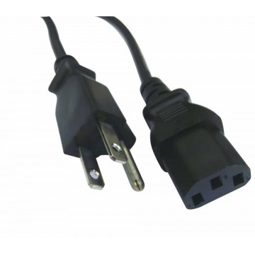 10ft 18AWG Power Cord Cable