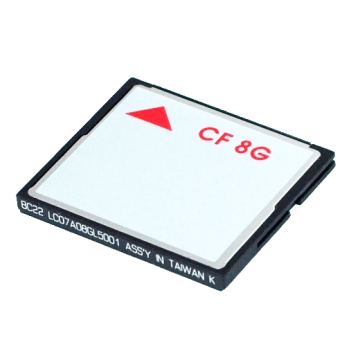 8GB CompactFlash card