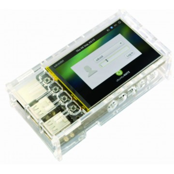 3.5inch LCD Shield Cases - Clear