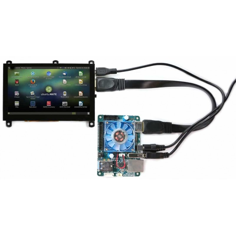 ODROID-VU5 : 5Inch Multi-Touch Display
