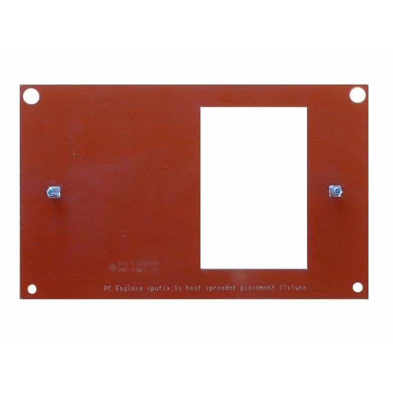 APU Heat Spreader Placement Fixture