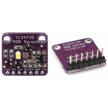 Color Sensor : TCS3472 RGB Sensor with IR filter