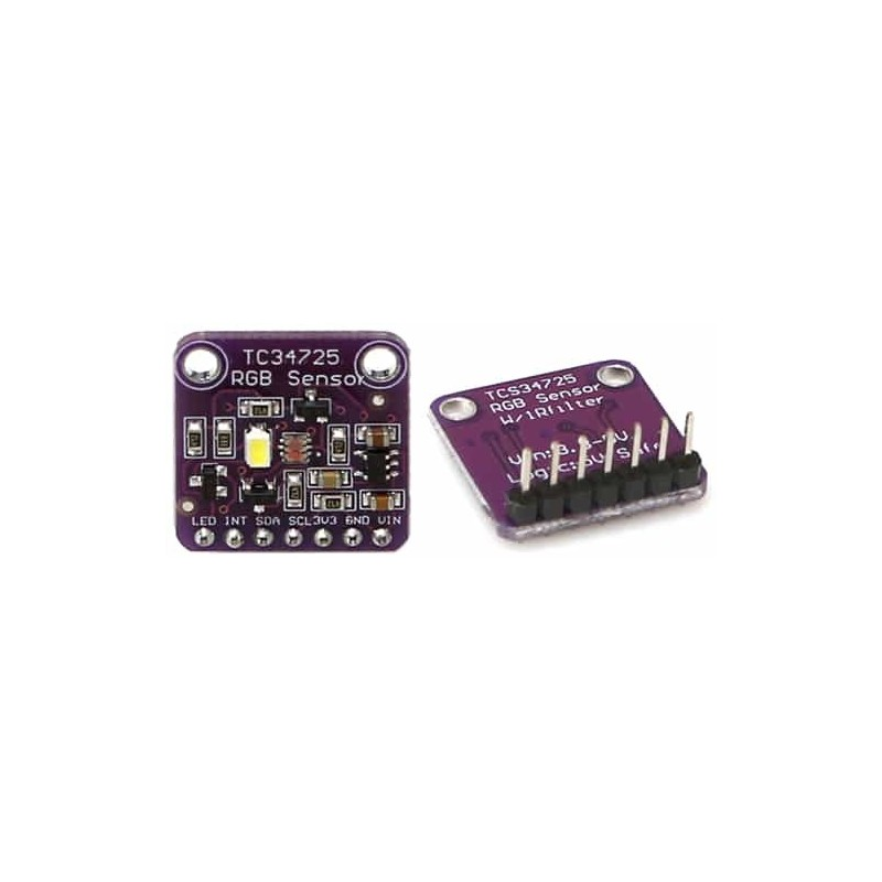 Color Sensor : TCS3472 RGB Sensor with IR filter