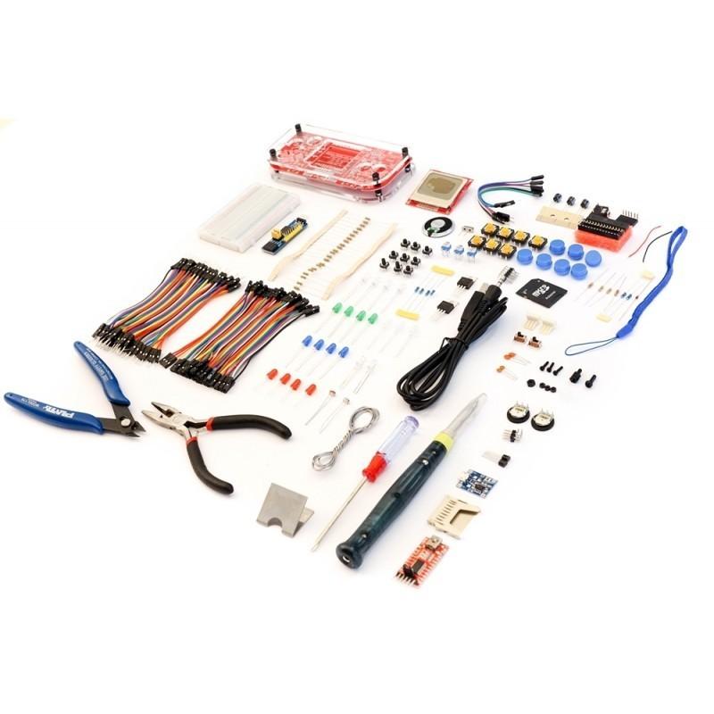 MAKERbuino kit with tools