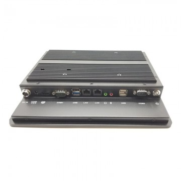 """Industrial Panel PC 10.4"""" Ports Preview"""