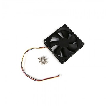 DC COOLING FAN W/ PWM, SPEED SENSOR (TACHO)