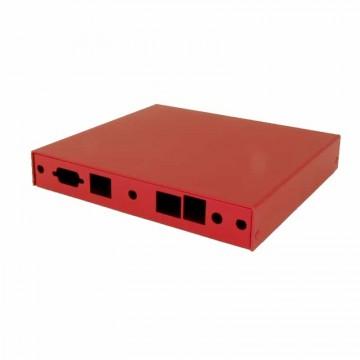 Red Indoor Enclosure ALIX2D2/6F2 - 2 LAN