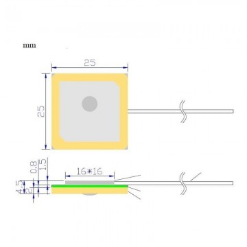 Internal Active GPS Patch Antenna CorpShadow - 4