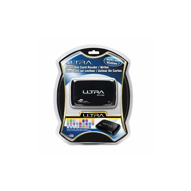 Ultra All-In-One Flash Card Reader - USB 2.0